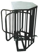 new mechanical half height turnstile